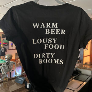 Black Horse Tavern – Warm Beer Tee